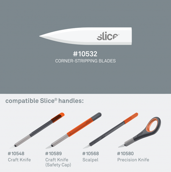 Corner-Stripping Blades