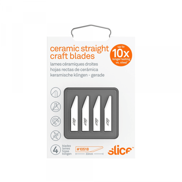 Craft Blades (Straight Edge, Rounded Tip)
