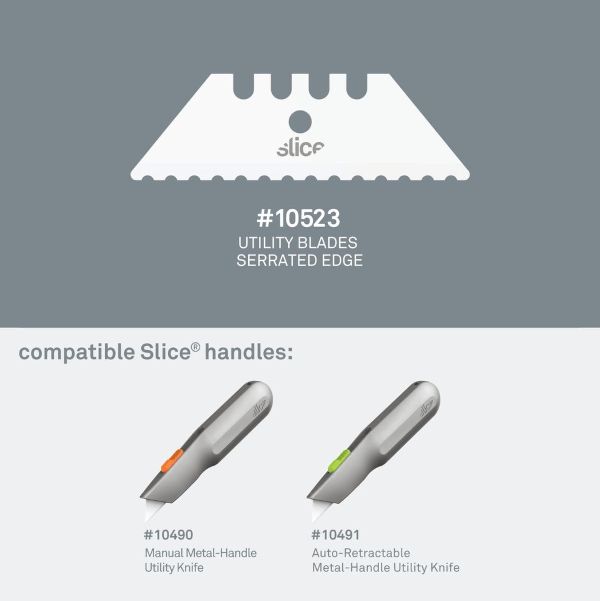 Utility Blades (Serrated)
